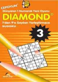 Diamond-3 1'den 9'a sayıları Yerleştirme Su Doku