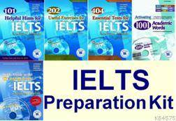 IELTS Preparation Kit  IELTS Hazırlık Seti (4 Kitap+3 MP3 CD+2 CDROM)