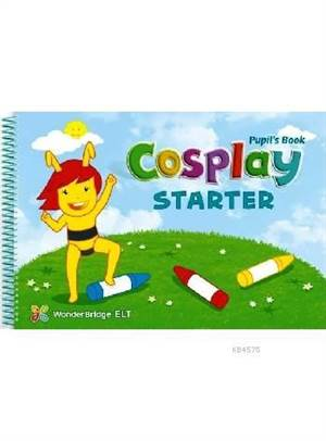 Cosplay Starter Pupil's Book + Stickers + DVD