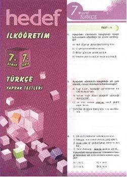 7 Türkçe Yaprak Test