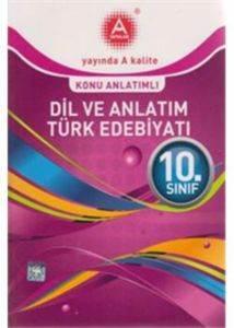 10.Sınıf Dil ve Anlatım Türk Edebiyatı Konu Anlatımlı