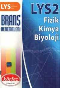 LYS 2 Branş Denemeleri Fizik-Kimya-Biyoloji