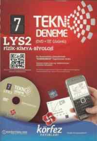 LYS 2 Tekno Deneme (Dvd+Cep Telefonu Çözümlü)