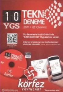 Körfez Ygs Tekno Deneme 10 Fasıkül Deneme (Dvd'Lı)