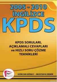 KPDS İngilizce 2005-2010 Soruları ve Açıklamaları Cevapları