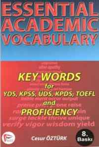 Essential Academic Vocabulary Key Words for YDS, KPDS, KPSS, ÜDS, TOEFL