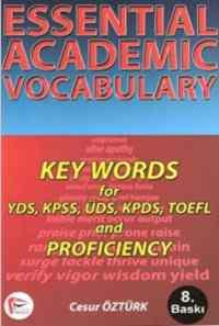 Essential Academic Vocabulary Key Words for YDS, KPDS, KPSS, ÜDS, TOEFL