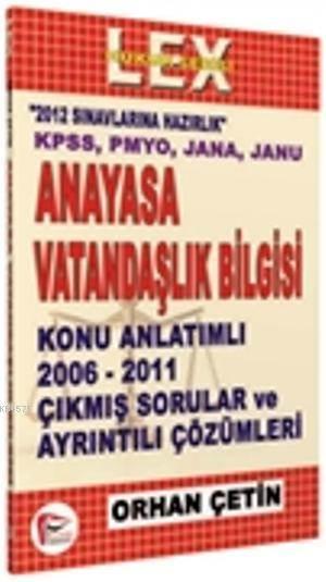 KPSS Anayasa Vatandaşlık Bilgisi - 2012