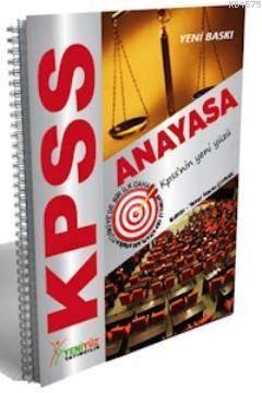 KPSS Anayasa Spiralli Cep Kitabı Konu Anlatımlı