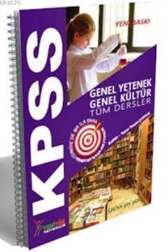 KPSS Genel Yetenek Genel Kültür Spiralli Cep Kitabı Konu Anlatımlı