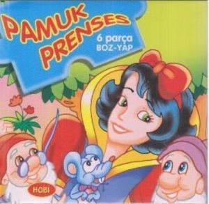 Pamuk Prenses 6 Parça Puzzle