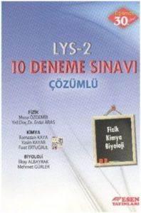 LYS 2 Fizik Kimya Biyoloji Deneme Sınavı