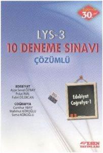 LYS 3 Edebiyat Coğrafya-1 Deneme Sınavı