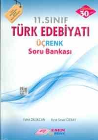 11.Sınıf Türk Edebiyatı Üçrenk Soru Bankası