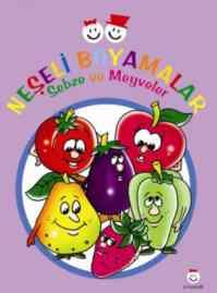 Neşeli Boyamalar Sebze ve Meyveler