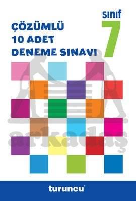 7.Sinif Turuncu Çözümlü Deneme Sinavi Seti