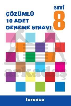 8.Sinif Turuncu Çözümlü Deneme Sinavi Seti