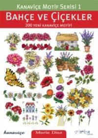 Kanaviçe Motif Serisi 1 Bahçe Ve Çiçekler