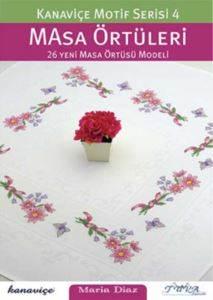 Kanaviçe Motif Serisi 4 Masa Örtüleri
