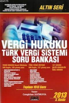 Vergi Hukuku Türk Vergi Sistemi Soru Bankası  Altın Seri