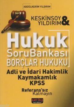 Borçlar Hukuku Soru Bankası Altın Seri
