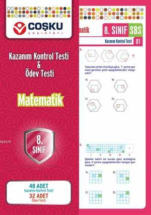 Coşku 8.Sınıf K.K.Testi & Ödev Testi Matematik