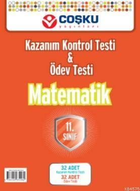 Coşku 11.Sınıf - K.K.Testi & Ödev Testi  Matematik