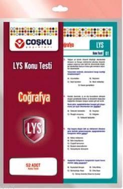 Coşku 12.Sınıf Lys Coğrafya Testi