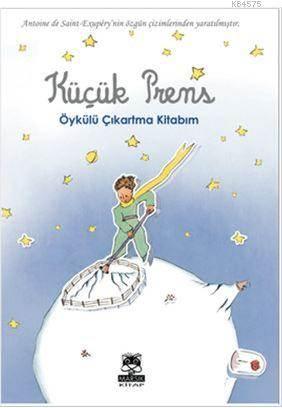 Küçük Prens Öykülü Çıkartma Kitabım