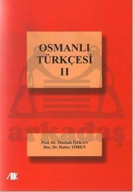 Osmanlı Türkçesi 2
