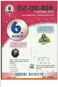 Özdebir 6 Sosyal Bilgiler Y.T.