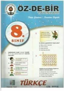 Özdebir 8.Sınıf Türkçe Çek Kopar Yaprak Test