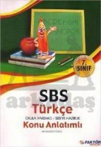 7.Sınıf SBS Türkçe Okula Yardımcı-Sbs ye Hazırlık K.A.