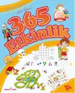 365 Güne 365 Etkinlik (CD Rom + Çıkartma + 6'lı Boyama Kalemi)