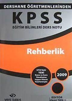 KPSS Eğitim Bilimleri Ders Notu Rehberlik