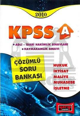 Yargı KPSS-A Çözümlü S.B.