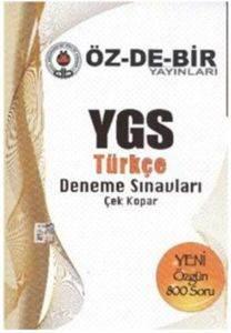 Özdebir YGS Türkçe Deneme