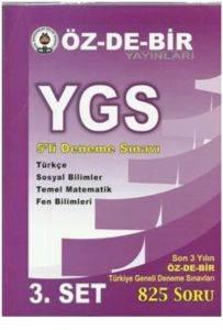 Özdebir Ygs 5Li Deneme Sınavı 3 Set