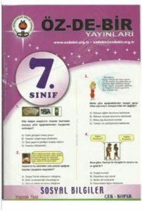 Özdebir 7 Sosyal Bilgiler Y.T.