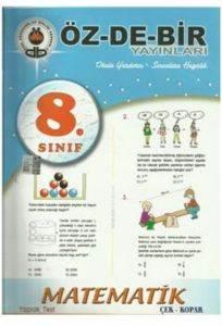 Özdebir 8 Matematik Y.T.