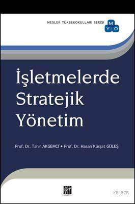İşletmelerde Stratejik Yönetim (Myo)