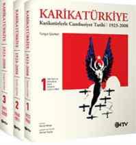 Karikatürkiye - 3 Cilt Karikatürlerle Cumhuriyet Tarihi 1923-2008