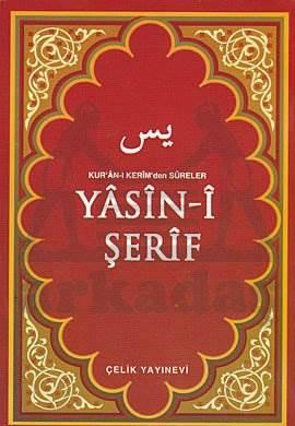 Yasin-i Şerif (Kur'ân-ı Kerim'den Sûreler,Arapça,Bilgisayar Hatlı) - Çanta Boy