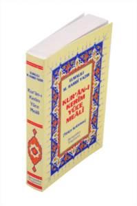 Kur'an-ı Kerim'in Yüce Meali Elmalılı M. Hamdi Yazır (Metinsiz Meal) - Çanta Boy, Ciltli