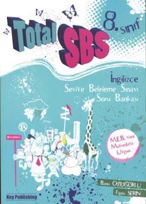 Total SBS 8. Sınıf İngilizce; Soru Bankası