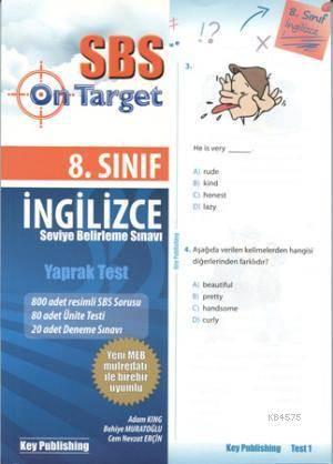 SBS 8. Sınıf İngilizce Yaprak Test