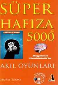 "Süper Hafıza 5000 ""Turuncu Kitap"""