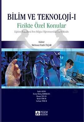 Bilim ve Teknoloji-1 Fizikte Özel Konular