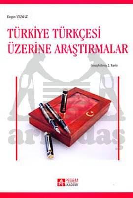 Türkiye Türkçesi Üzerine Araştırmalar