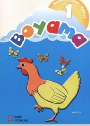 Renkli Örnekli Egitici Boyama 1